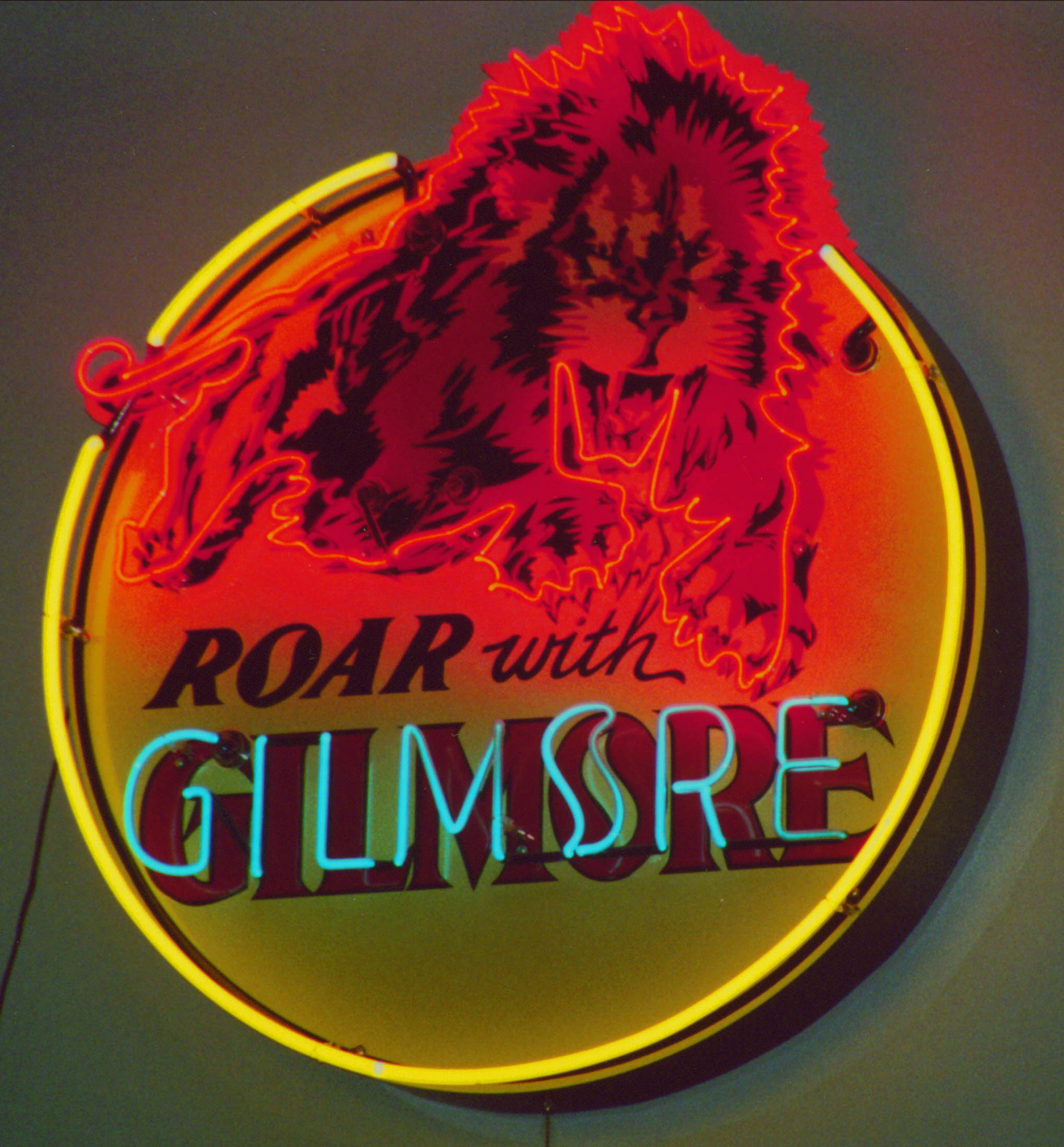 Roar with Gilmore Neon Sign ON