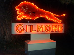 Gilmore Neon Sign